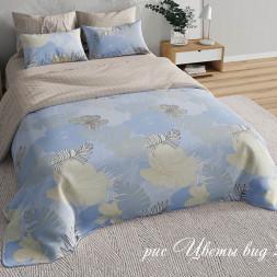 КПБ «Прованс» Цветы голубые